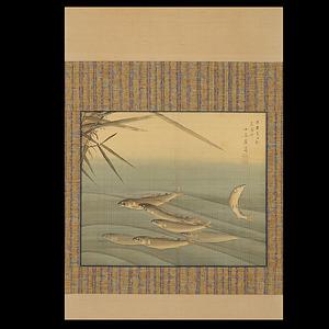 小泉斐 (壇山)  鮎図
